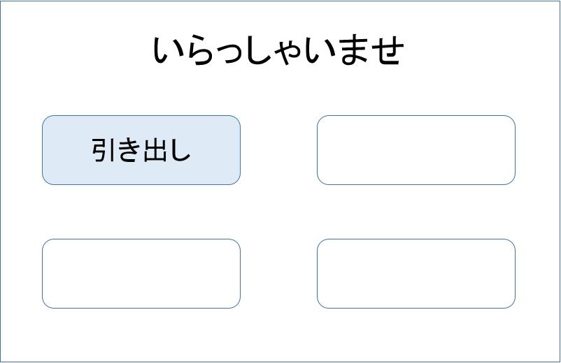 キャッシング ATM 借入方法1