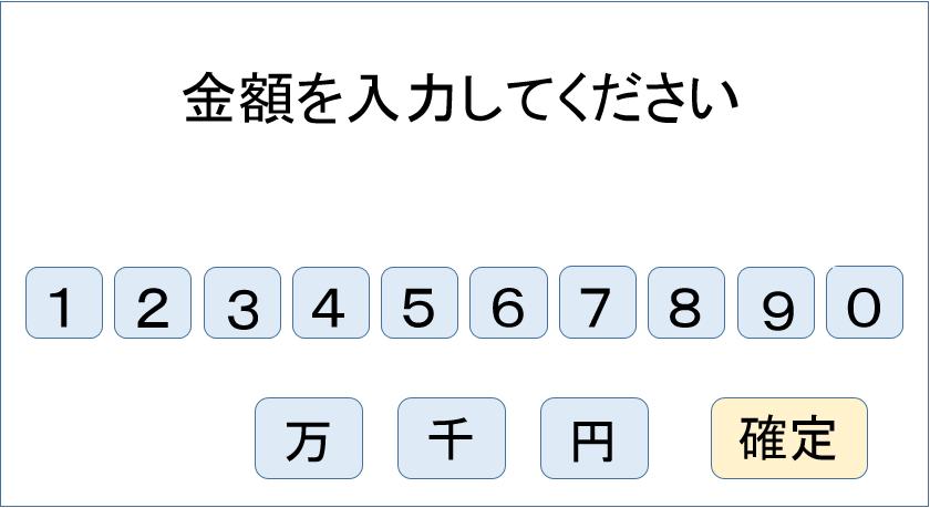 キャッシング ATM 借入方法4