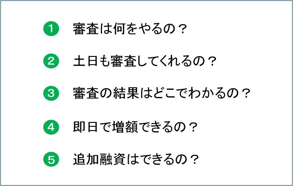 レイク 増額 疑問