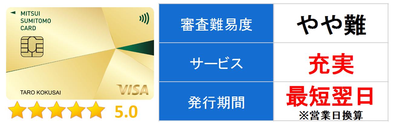 三井住友VISAゴールドカード メイン