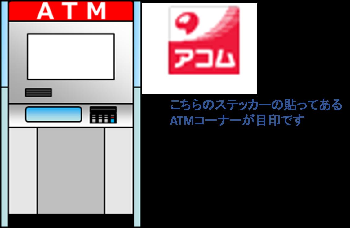 アコム 提携ATM