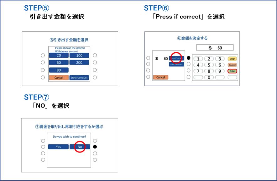 海外ATMの利用方法2