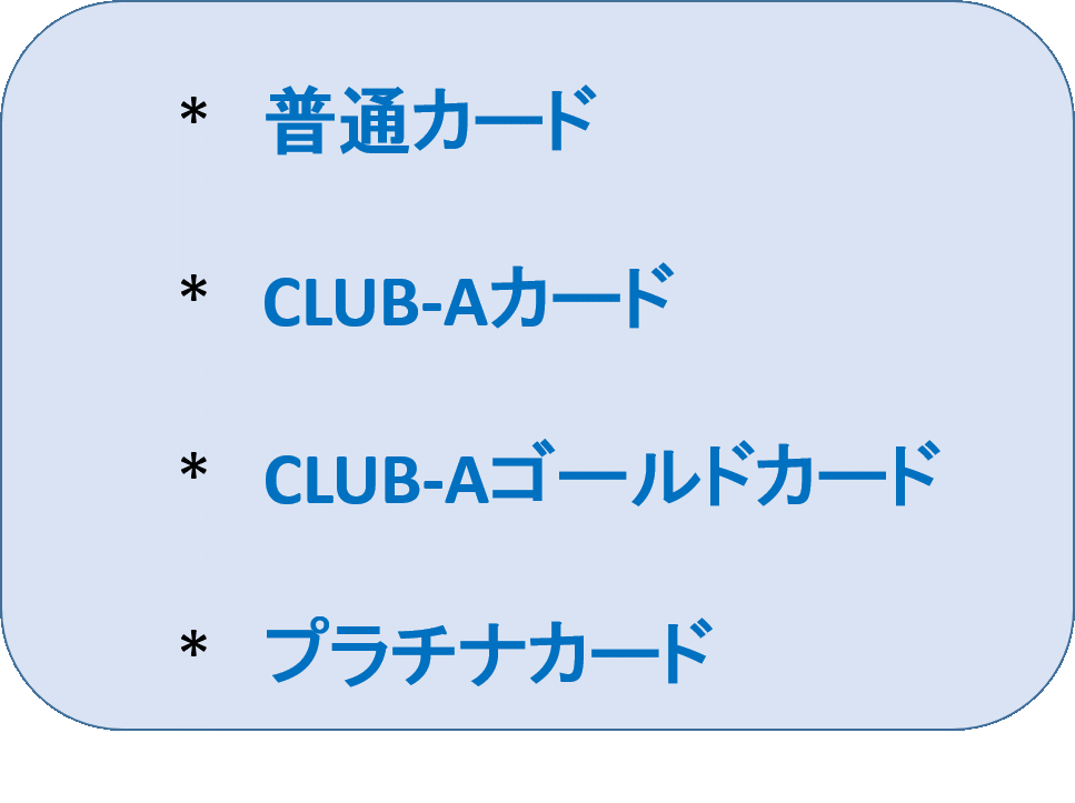 6.JALカードの種類