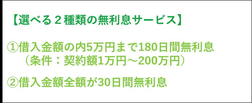 新生銀行カードローンレイク 無利息サービス