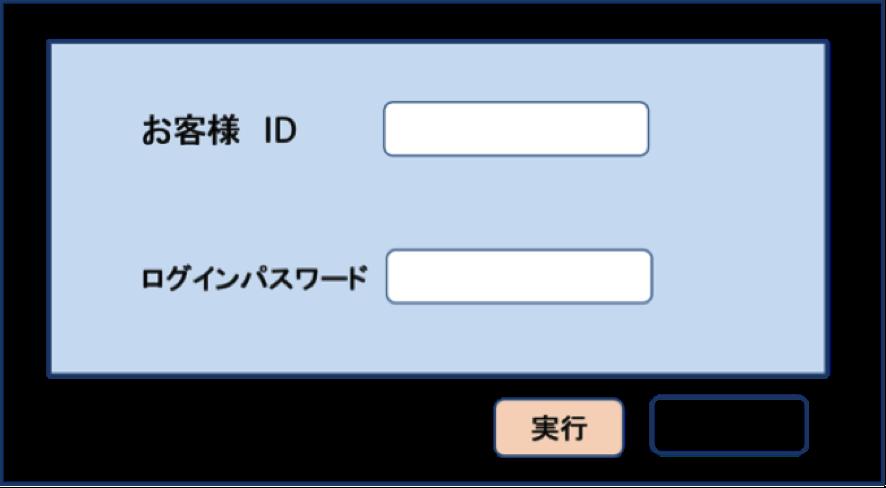 インターネットの会員ページにログイン