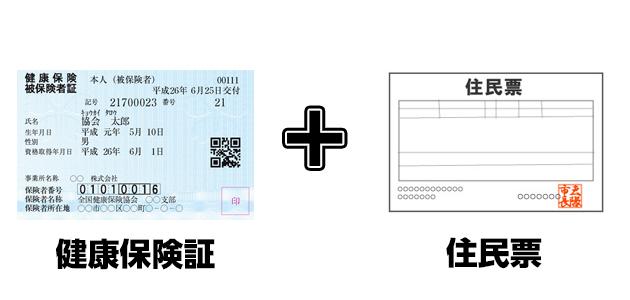 健康保険証+α