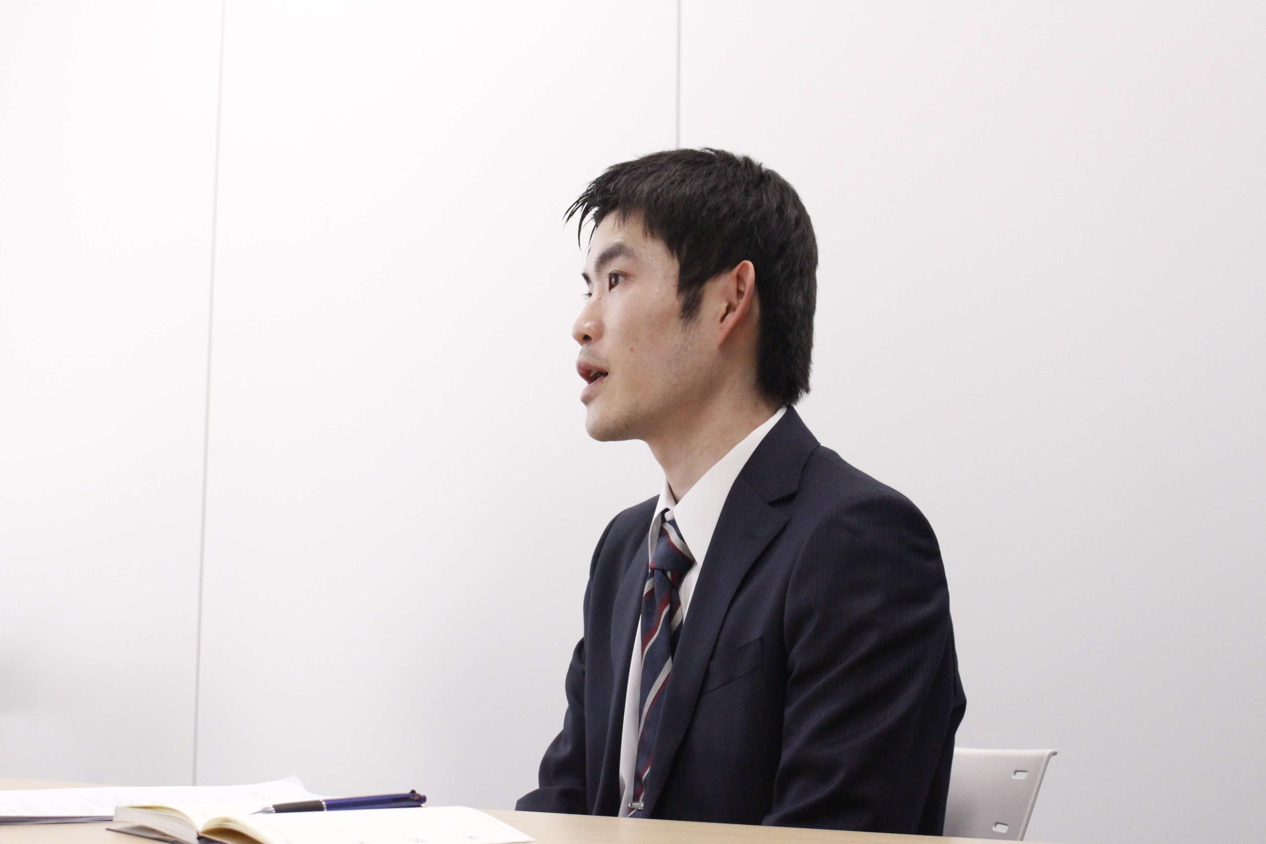 MoneyT Globalについてのインタビューに答える北田氏
