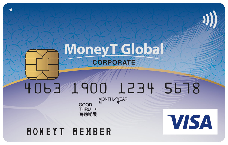 MoneyT Globalの券面